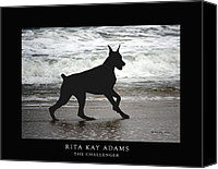 Dobe Canvas Prints - The Challenger Canvas Print by Rita Kay Adams