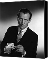 1955 Movies Canvas Prints - The End Of The Affair, Peter Cushing Canvas Print by Everett