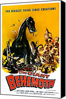 1959 Movies Canvas Prints - The Giant Behemoth, 1959 Canvas Print by Everett