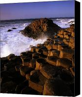 Ocean Front Landscape Canvas Prints - The Giants Causeway, County Antrim Canvas Print by The Irish Image Collection 