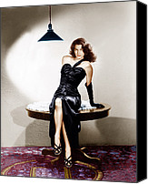 Long Gloves Canvas Prints - The Killers, Ava Gardner, 1946 Canvas Print by Everett