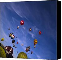 Balloon Fiesta Canvas Prints - The Lounge Canvas Print by Angel  Tarantella