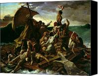 Stormy Canvas Prints - The Raft of the Medusa Canvas Print by Theodore Gericault