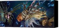 Lionfish Canvas Prints - The Sentinels Canvas Print by Patrick Anthony Pierson