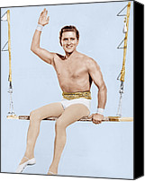 Ballet Slippers Canvas Prints - The Story Of Three Loves, Kirk Douglas Canvas Print by Everett