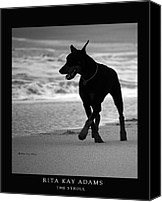 Dobe Canvas Prints - The Stroll Canvas Print by Rita Kay Adams