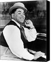 Bandleader Canvas Prints - Thomas Fats Waller Canvas Print by Granger
