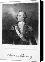 American Revolution Canvas Prints - Thomas Pinckney (1750-1828) Canvas Print by Granger