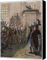 American Revolution Canvas Prints - TOWN MEETING, 18th CENTURY Canvas Print by Granger