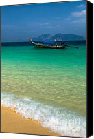 Thai Canvas Prints - Tropical Paradise Canvas Print by Adrian Evans
