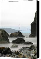 Golden Gate Canvas Prints - Untitled Canvas Print by Catherine Lau
