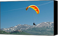 Fineartam Canvas Prints - Up and Away Canvas Print by Michael Avory