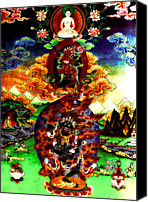 Tibetan Buddhism Photo Canvas Prints - Vajrayogini 3 Canvas Print by Lanjee Chee
