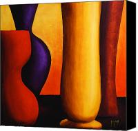 Fine Art Photography Painting Canvas Prints - Vases  Canvas Print by Mauro Celotti