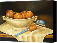 Pamela Allegretto-franz Canvas Prints - Venetian Table Canvas Print by Pamela Allegretto