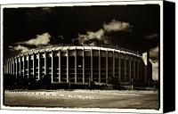 Phillies Canvas Prints - Veterans Stadium Canvas Print by Jack Paolini