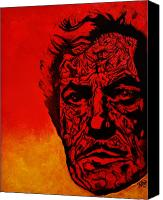 Horror Canvas Prints - Vincent Price Canvas Print by Christopher  Chouinard