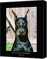Dobe Canvas Prints - Voodoo Canvas Print by Rita Kay Adams