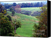 Patrick Mills Canvas Prints - West Virginia Nature Scape Canvas Print by Patrick Mills