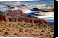 Southwest Mesa Landscape Canvas Prints - Wild Horse Mesa Canvas Print by Utah Images