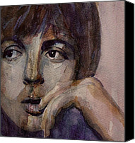 Mccartney Canvas Prints - Yesterday Canvas Print by Paul Lovering