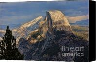  Yosemite Canvas Prints - Yosemite Half Dome Canvas Print by Chuck Kuhn