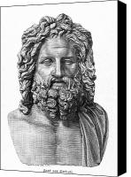 4th Canvas Prints - Zeus Canvas Print by Granger