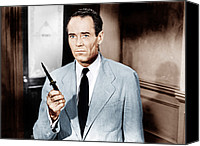 1950s Movies Canvas Prints - 12 Angry Men, Aka Twelve Angry Men Canvas Print by Everett
