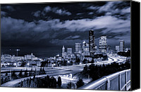Seattle Canvas Prints - 12th Street Bridge View Canvas Print by Tanya Harrison