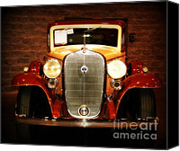 Auction Canvas Prints - 12V Collector Car Canvas Print by Susanne Van Hulst