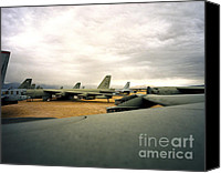 Regeneration Photo Canvas Prints - 13 Decommissioned B-52Ds Canvas Print by Jan Faul
