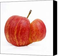 Red Apple Canvas Prints - Apple Canvas Print by Bernard Jaubert
