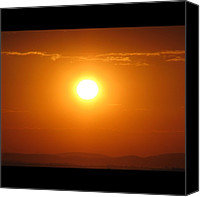 Retratodebelohorizonte Canvas Prints - [15-vi-2k12, 17:15] #pordosol No #ceu Canvas Print by Diogo Rocha