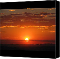 Retratodebelohorizonte Canvas Prints - [15-vi-2k12, 17:20] #pordosol No #ceu Canvas Print by Diogo Rocha