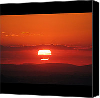 Retratodebelohorizonte Canvas Prints - [15-vi-2k12, 17:22] #pordosol No #ceu Canvas Print by Diogo Rocha