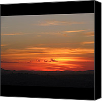 Retratodebelohorizonte Canvas Prints - [15-vi-2k12, 17:28] #pordosol No #ceu Canvas Print by Diogo Rocha