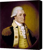 American Revolution Canvas Prints - George Washington Canvas Print by Granger