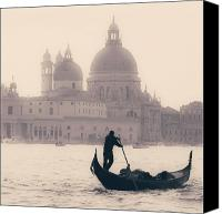 Gondola Canvas Prints - Venezia Canvas Print by Joana Kruse