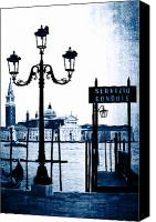 Dove Canvas Prints - Venezia Canvas Print by Joana Kruse