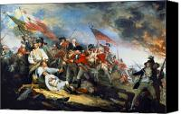 Minutemen Canvas Prints - Battle Of Bunker Hill, 1775 Canvas Print by Granger