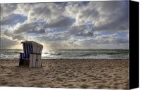 Sandy Beach Canvas Prints - Sylt Canvas Print by Joana Kruse