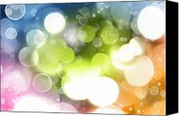 Magic Photo Canvas Prints - Abstract background Canvas Print by Les Cunliffe