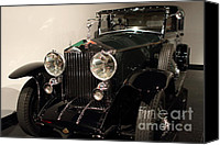 Import Cars Canvas Prints - 1927 Rolls Royce Phantom 1 Towncar - 7D17195 Canvas Print by Wingsdomain Art and Photography