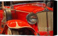 Classic Automobiles Canvas Prints - 1931 Cord Automobile Canvas Print by Bob Christopher