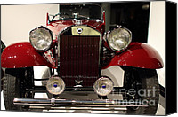Import Cars Canvas Prints - 1932 Lancia Dilambda Tourer - 7D17207 Canvas Print by Wingsdomain Art and Photography