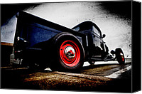 Blue Ford Canvas Prints - 1934 Ford Pickup Canvas Print by Phil 