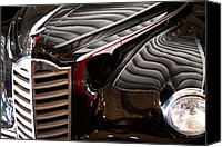Custom Grill Canvas Prints - 1946 Packard Custom Super Clipper Sedan II Canvas Print by David Patterson