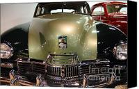 American Car Canvas Prints - 1947 Kaiser Canvas Print by Wingsdomain Art and Photography