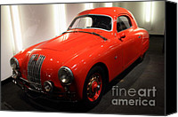 Sportscars Photo Canvas Prints - 1948 Fiat 1100S - 7D17308 Canvas Print by Wingsdomain Art and Photography