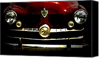 Antique Automobiles Digital Art Canvas Prints - 1949 Crosley  Canvas Print by Steven  Digman
